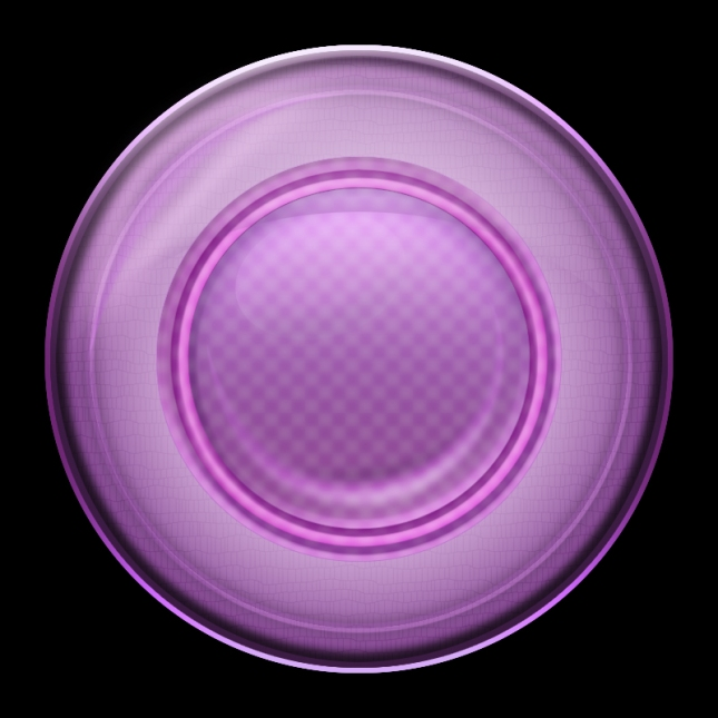 Purple Orb Style Icon